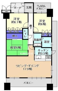 サーパス西桜町9F 間取り.jpg
